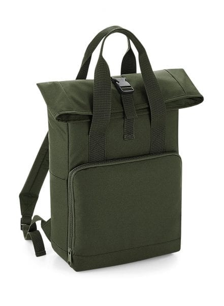 roll top bagbase kids olive cityplotter