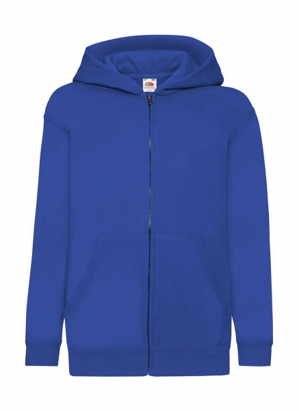 Hooded Vest Royal Blue Kids Classic Hooded Sweat Jacket FotL cityplotter