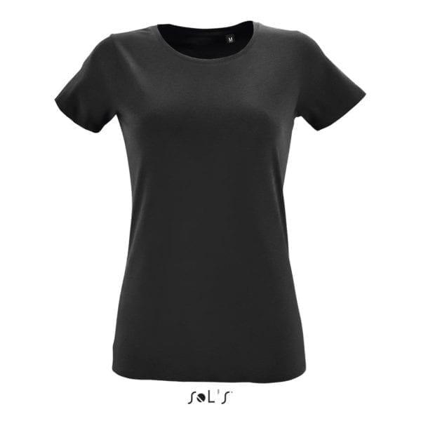sol regent fit zwart shirt dames cityplotter