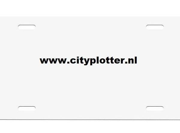 sublimatie-kentekenplaat cityplotter