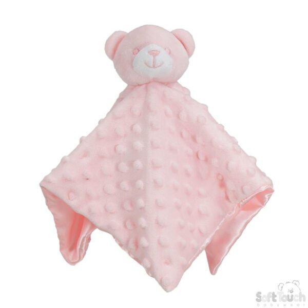 knuffelbeer roze noppen cityplotter