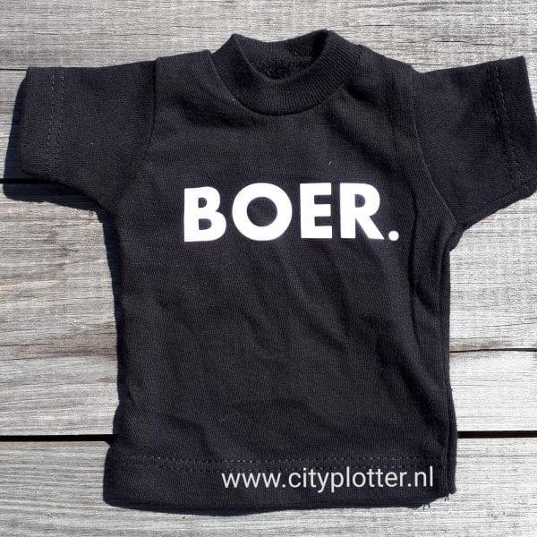 BOER. T Shirt Zwart | BOERKLEDING