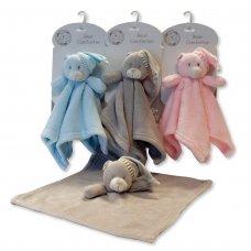 bear comforter roze met mutsje cityplotter