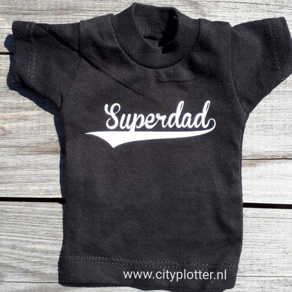 mini shirt superdad cityplotter