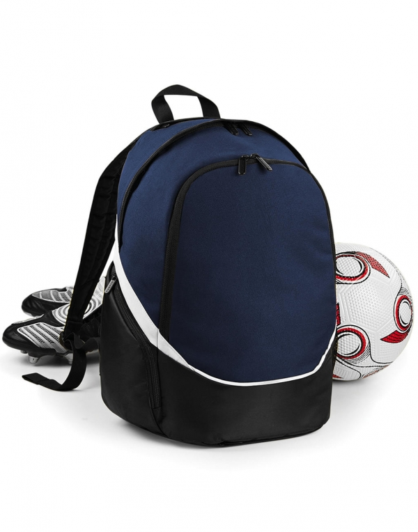 PRO TEAM blauw wit voetbal BACKPACK cityplotter