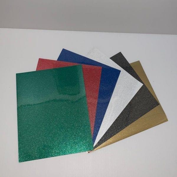 Speciaal Fijn Glitter Flex Folie 6 Voordeel Pakket PK0XPOFLEXGL6 Cityplotter Zaandam