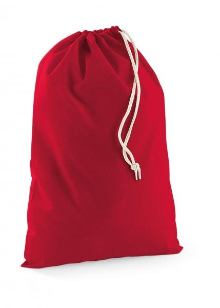 Cotton Stuff Bag rood