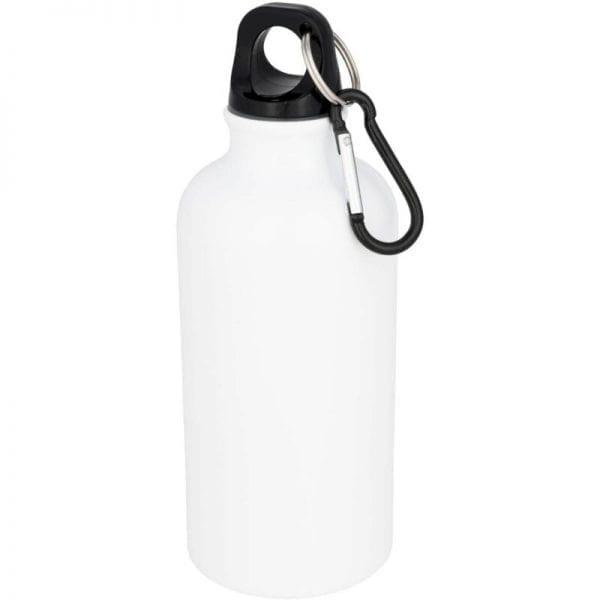 bidon waterfles sublimatie wit zwarte dop 400 ml cityplotter