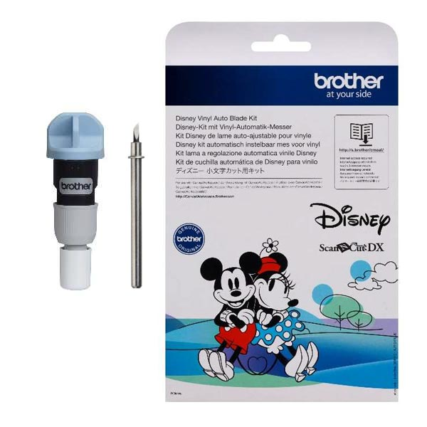brother disney vinyl auto blade kit cityplottercadxvbdsnkit1