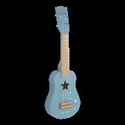 little-dutch-gitaar-blauw gitaar