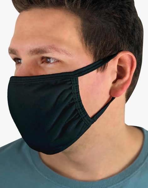 masker gezichtsmasker zwart fruit of the loom cityplotter