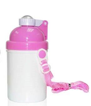 sublimatie drinkbeker roze witte dop kinderen cityplotter