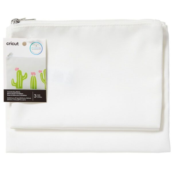 Cricut Cosmetic Bag Blanks (3 stuks) (2008211) EAN 093573886911 cityplotter