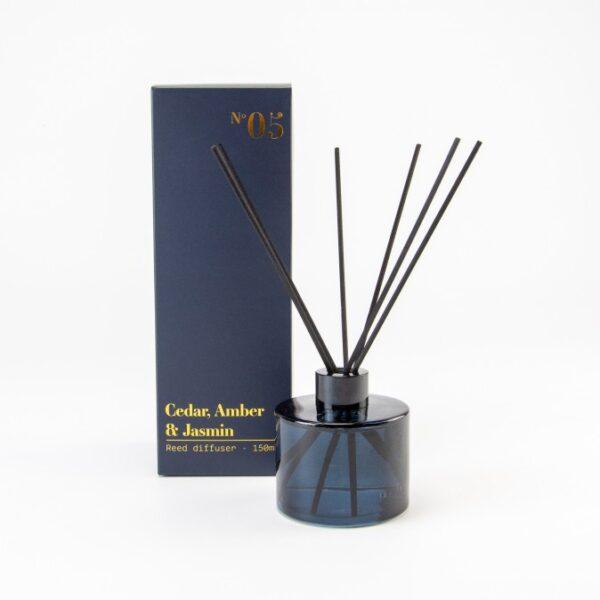 luxe-diffuser-set-incl-geurolie-blauw-getint-150-ml cityplotter