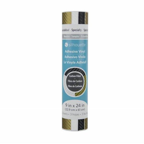Silhouette Carbon Fiber Sampler SAM-VINYL-CARBON EAN 819177020168 CITYPLOTTER Zaandam