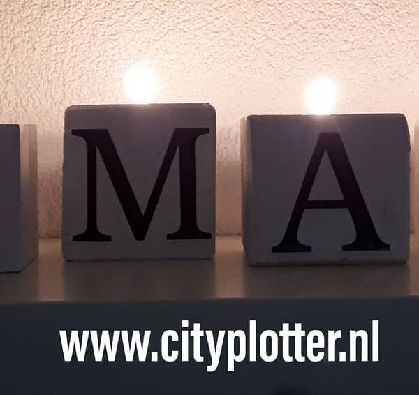 licht blokken xmas cityplotter
