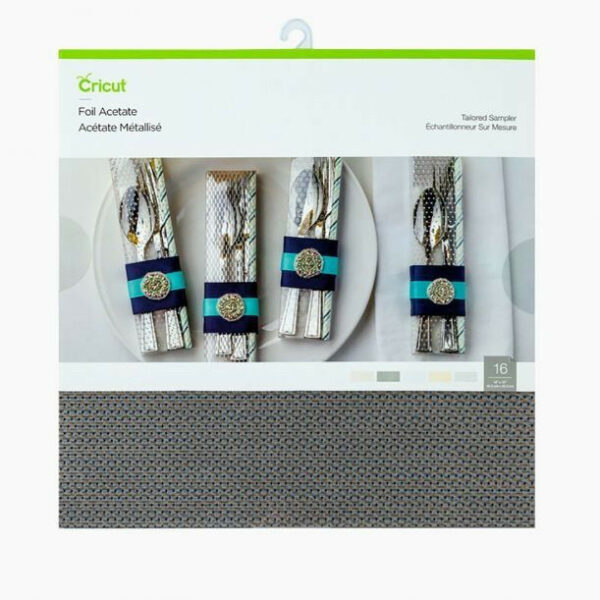 Cricut Tailored 12x12 Inch Foil Acetate Sampler (2006310) cityplotter