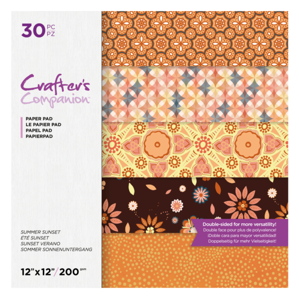 crafters-companion-summer-sunset-12x12-inch-paper cityplotter