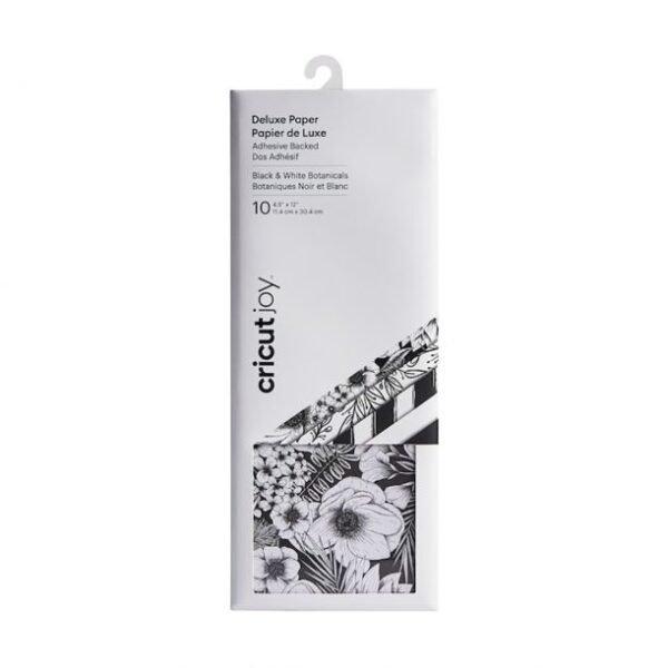 cricut-deluxe-paper-black-white-botanicals-2008049 cityplotter
