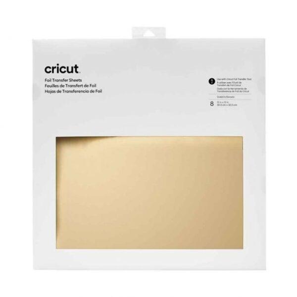 cricut-foil-transfer-sheets-30x30cm-gold-8pcs cityplotter