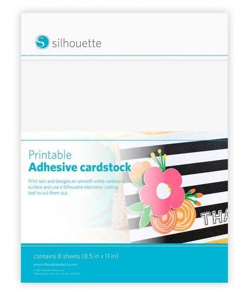 Silhouette Printable Adhesive Cardstock Cityplotter Zaandam