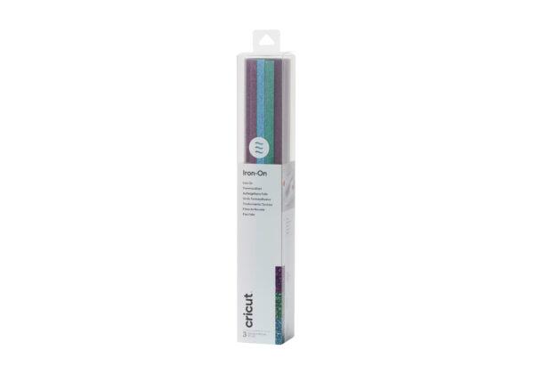 Cricut Glitter Iron-On Sampler 3x Kleuren 12x12 Inch (2007693) EAN 093573069338