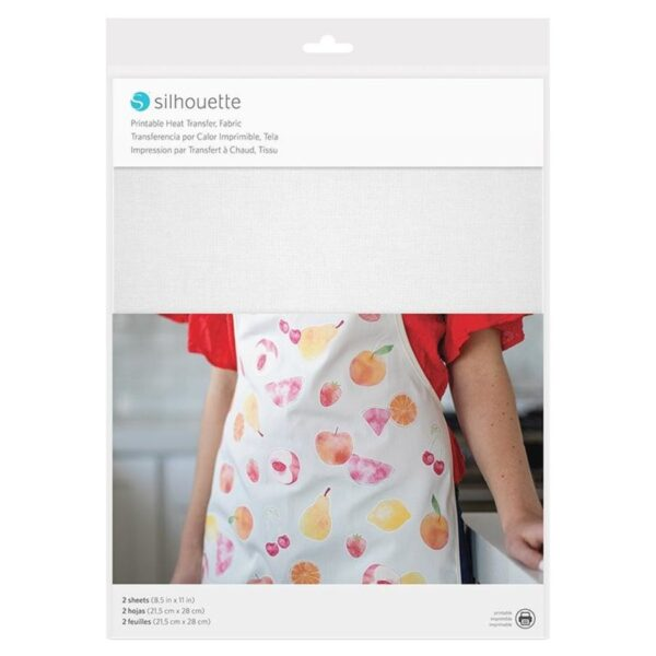 Silhouette PRINTABLE HEAT TRANSFER - FABRIC HEAT-PRINT-FAB EAN 819177022070