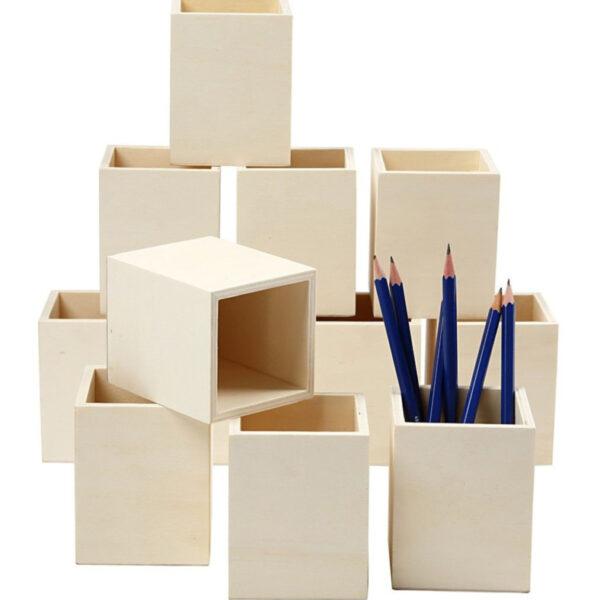 Pennenbakje (vierkant) voorbeeld cityplotter
