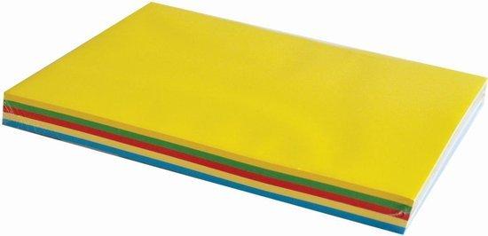 Gekleurd A4 Papier Coloured A4 Paper 5 Basis Kleuren SET 1 Cityplotter Zaandam