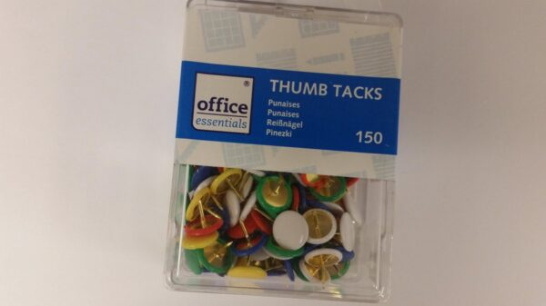 Punaises Thumb Tacks Gekleurd 150 stuks Office Cityplotter Zaandam