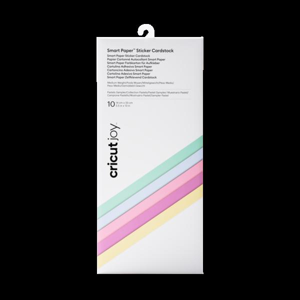 Cricut Smart Sticker Cardstock Pastels Sampler (10pcs) (2008872)EAN 093573639654 cityplotter