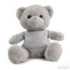 knuffelbeer grijs 25 cm cityplotter