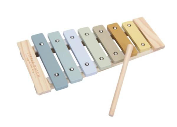 little dutch xylophone blauw cityplotter