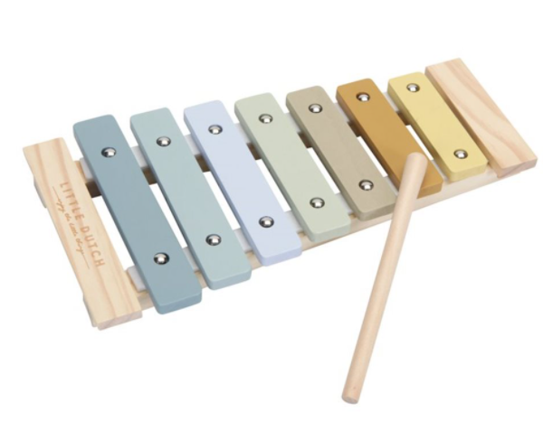 little dutch xylophone blauw cityplotter