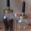 glazenpot met kaars trio reageerbuis cityplotter