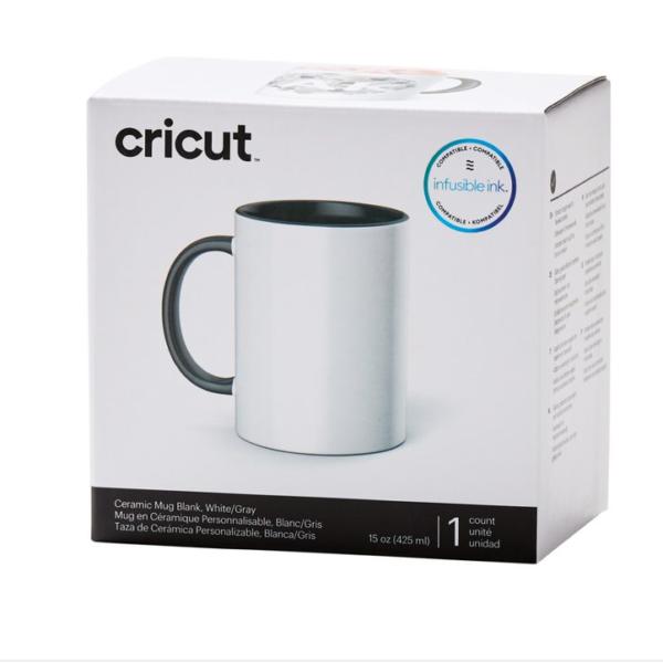 cricut mug grey white 440 ml cityplotter