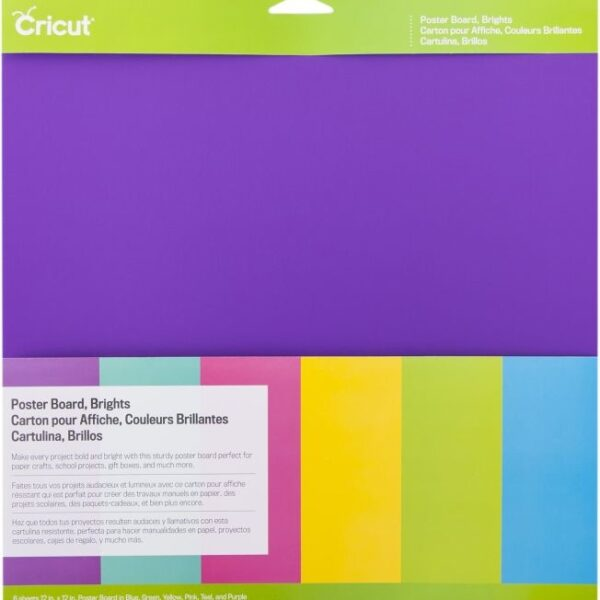 cricut-poster-board-12x12-inch-brights-2003544 cityplotter